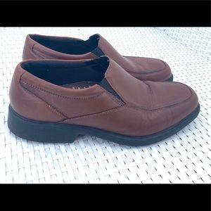 Bostonian brown leather shoes 10 W